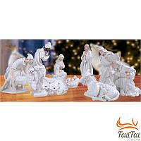Рождественский вертеп для дома набор фигур