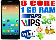 Huawei i7 8 core, 2 Sim, GPS, IPS экран 5+ чехол
