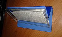 Чехол книжка Lenovo P780 синяя с силиконовым креплением