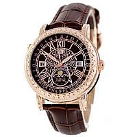 Астрономические часы Patek Philippe Grand Complications 6002 Sky Moon Tourbillon - цвет золото с коричневым