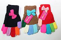 Перчатка на девочку 5-7 лет