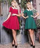 Милое платье, повседневное. Двух цветов. р. от 42 до 50.