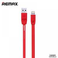 Кабель зарядка для iPhone, USB кабель REMAX Quick Lightning, 1.0м красный