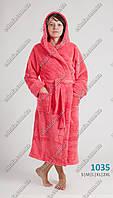Женский длинный махровый халат  48-50 размеры