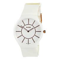 Часы RADO - true thinline керамика, белые, не царапаются