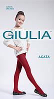 Однотонные хлопковые колготки для подростков AGATA 150