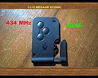 Ключ карта 3 кнопки Renault Рено Megane Меган Clio Клио Scenic Сценик