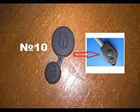 Кнопки (резиновые) для ключа Пежо Peugeot