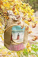 Рюкзак текстильный ручной работы «Маяк» SKU0000320