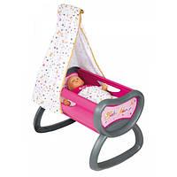 Кроватка для кукол с балдахином Smoby Baby Nurse 220311
