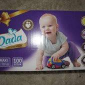 Подгузники детские DADA Premium МЕГАПАК 4 (7-18кг) 100 шт