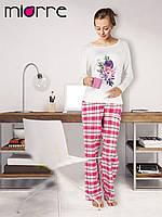 Пижамка Miorre с цветочным принтом, длинный рукав