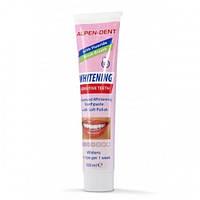Зубная паста отбеливающая для чувствительных зубов ALPEN DENT, 100 мл