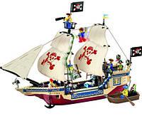 Конструктор Пиратский корабль  набор Brick-311