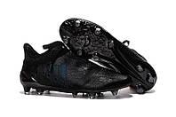 Футбольные бутсы Adidas X 16+ Pure Chaos FG Black/Blue