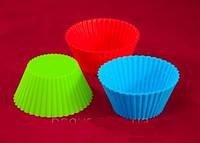 Набор силиконовых форм для выпечки кексов Empire ЕМ 7187, 8 шт