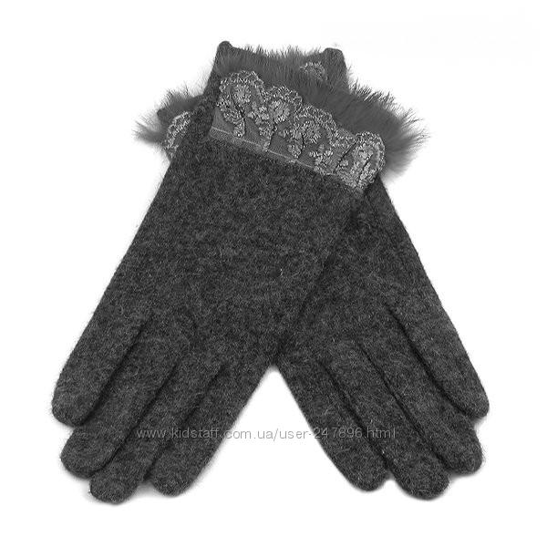 Кашемировые женские перчатки оптом