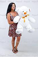 Большой плюшевый мишка, медведь Томми 100см белый