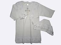 """Рубашечка для крещения """"Христина-2"""""""
