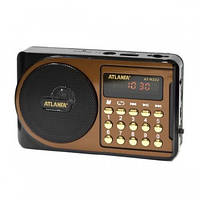 Портативная колонка радиоприемник ATLANFA AT-R22U