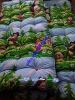 Ватный матрас в детскую кроватку 120*60см.
