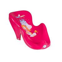 Горка для купания ребёнка CS-003 Принцессы Tega Baby, розовая