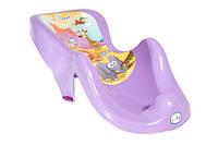 Горка для купания ребёнка SF-003 Safari Tega Baby, фиолетовая