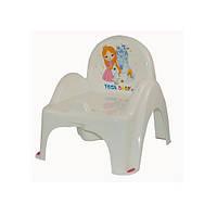 Детский горшок - кресло Little Princess LP-007 Tega Baby, белый