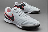 Сороконожки Nike Tiempo Mystic V TF Grey