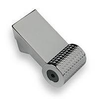 Ручка  мебельная hi-tech  SIR1691-109ZN1 хром глянец  16 мм