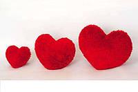 Декоративная подушка и мягкая игрушка Сердце  размер 22 см