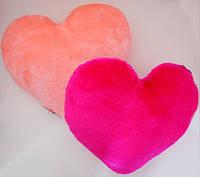 Декоративная подушка и мягкая игрушка Сердце  размер 37 см