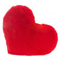 Декоративная подушка и мягкая игрушка Сердце  размер 50 см