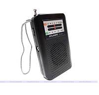 Портативная колонка радиоприемник ATLANFA AT-107