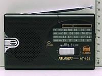 Портативная колонка радиоприемник ATLANFA AT-108