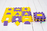 3D пазл «Геометрия» – развивающая мягкая игрушка