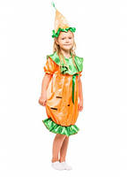 """Маскарадный костюм морковки для девочки. (от 3 до 8 лет) """"Karnaval"""" LZ-1408"""