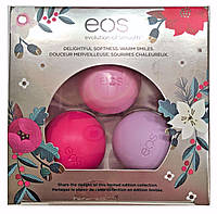 Набор бальзамов для губ EOS  Limited Edition Honey Apple, Wildberry, Passion Fruit​