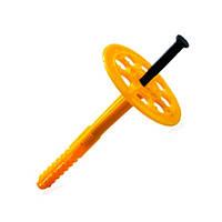 Дюбель для термоизоляции (зонтик) пластик 10х140 (100шт)