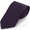 Стильный мужской широкий галстук SCHONAU & HOUCKEN (ШЕНАУ & ХОЙКЕН) FAREPS-42 фиолетовый