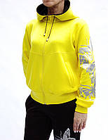 Яркий спортивный костюм Бабочки для женщин - стрейч-эластан