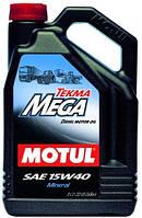 Моторное масло для грузовика TIR 15W40 MOTUL TEKMA MEGA 5л минералка Volvo Mercedes Renault  MAN DAF Scania
