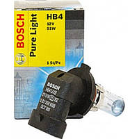 Автомобильная лампа Bosch Pure Light HB4 12V 51W (1987302153)