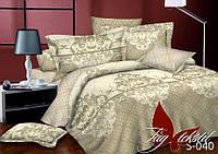 Сатин 1,5-спальное постельное белье с компаньоном ТМ TAG S040