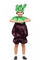 """Маскарадный костюм буряка. (от 4 до 8 лет) """"Karnaval"""" LZ-1408"""