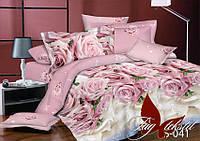 Сатин 1,5-спальное постельное белье с компаньоном ТМ TAG S041