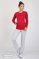 Штаны спортивные Alice для беременных (серый меланж)