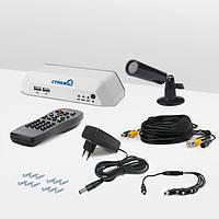 Система видеонаблюдения «установи сам» Страж Превент 1Ц+ (ЦЛ-480С-1)