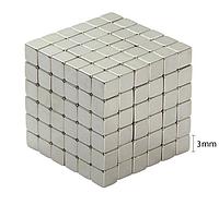 Неокуб 216 намагниченных неодимовых квадратных кубиков
