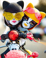 Набор кукол Monster High Мурсефона и Мяулодия (Meowlody & Purrsephone) Веркошки на скутере Монстер Хай